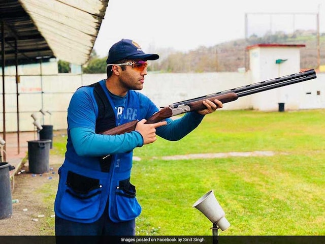 Commonwealth Games 2018: Shooter Smit Singh Disappoints In Mens Skeet Final, Finishes Sixth