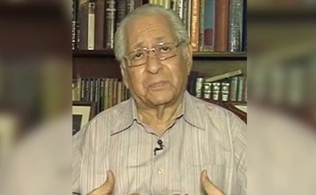 Soli Sorabjee Welcomes Vice President's Decision To Reject Motion To Impeach Chief Justice