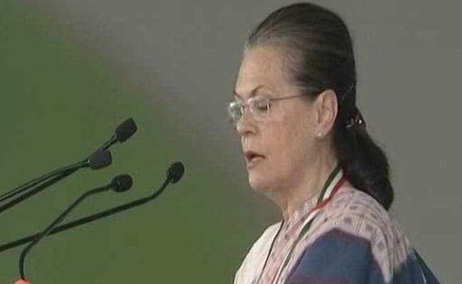 'What Happened To Modiji's Corruption Slogan?': Sonia Gandhi Attacks NDA