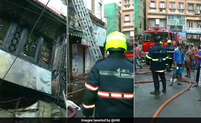 8 People Rescued From South Mumbai Building Where Fire Broke Out Earlier Today