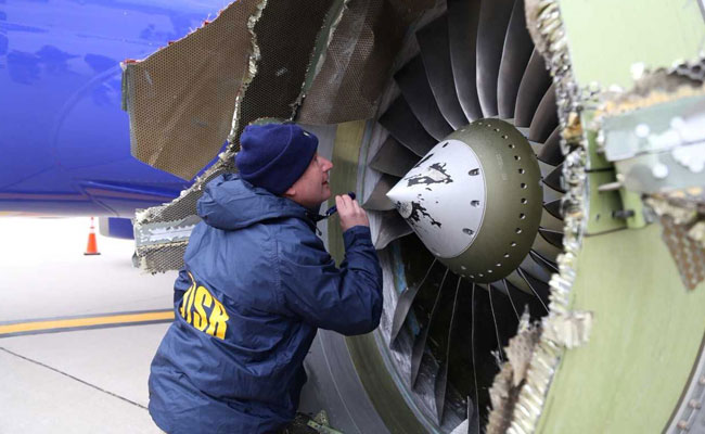 FAA orders inspection of jet engines like those in Southwest accident