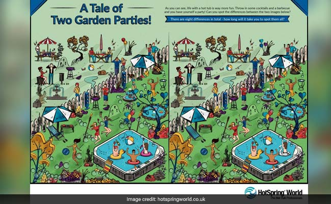 Can You Spot All 8 Differences In This Puzzle? It's Harder Than It Looks
