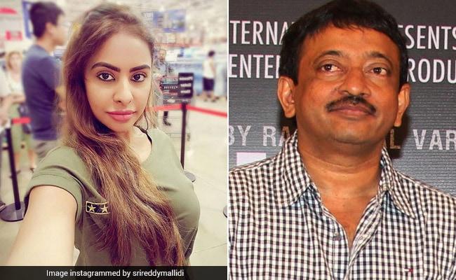 कपड़े उतारकर विरोध करने वाली तेलुगू एक्ट्रेस पर राम गोपाल वर्मा का ट्वीट, नेशनल सेलेब्रिटी बन गई है...