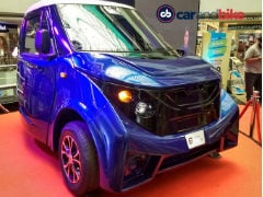 Strom R3 Electric Car Unveiled in India
