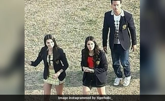 3c96826da On The Sets Of Student Of The Year 2  Ananya Panday