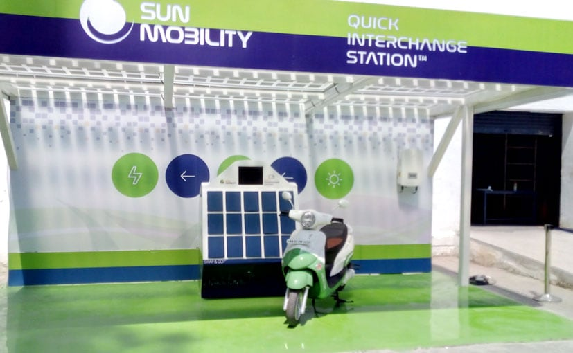 Sun Mobility Launches Smart Battery Swap System For Electric Two And Three-Wheelers