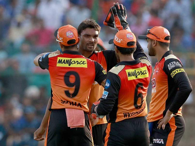 IPL 2018 Sun Risers Hyderabad Go Top Of Table With Win Over Rajasthan Royals