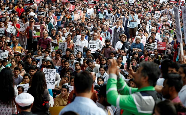 surat rape protest reuters