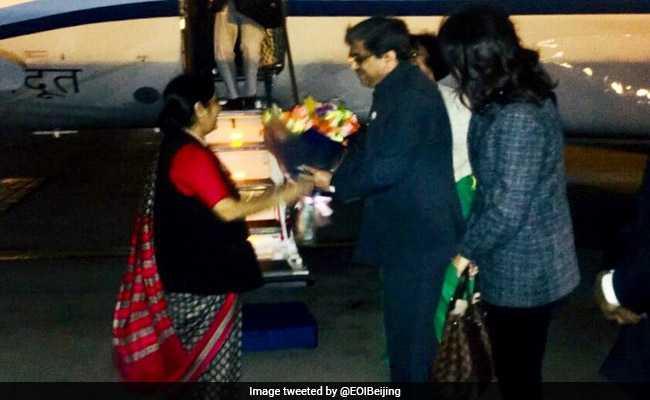 sushma swaraj china