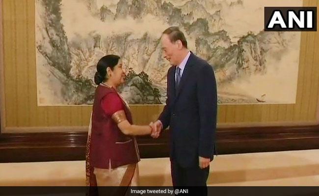 Sushma Swaraj Meets Chinese Vice President Wang Qishan, Discusses India-China Ties