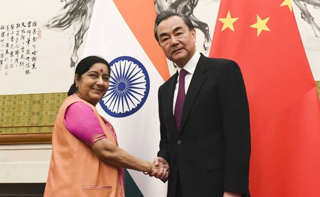 Sushma Swaraj To Meet Chinese Counterpart Amid Masood Azhar Row