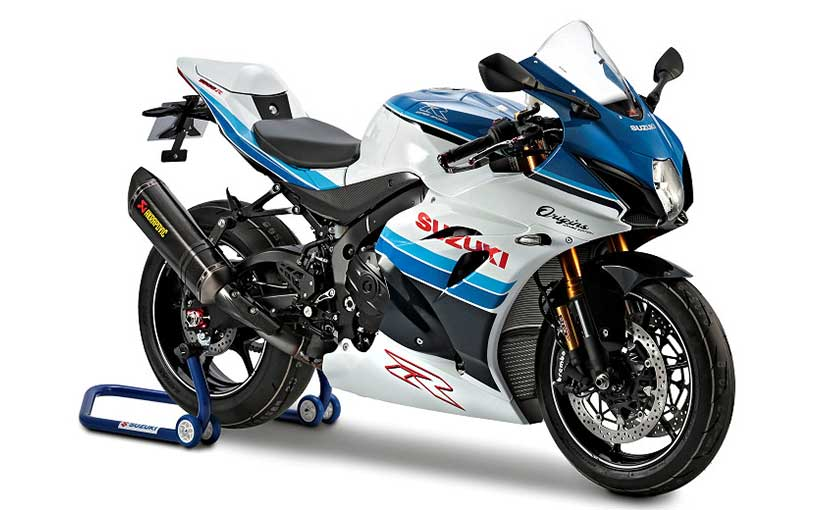 The GSX-R1000R Origins Edition gets a few carbon fibre bits