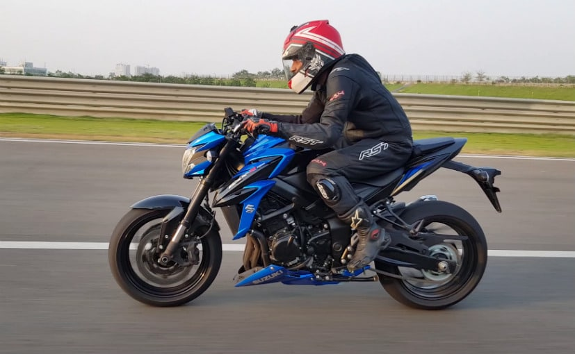 suzuki gsx s750 first ride
