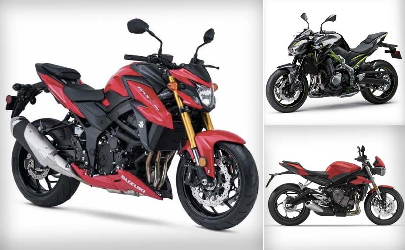 An on-paper comparison of the Suzuki GSX-S750 with its closest rivals