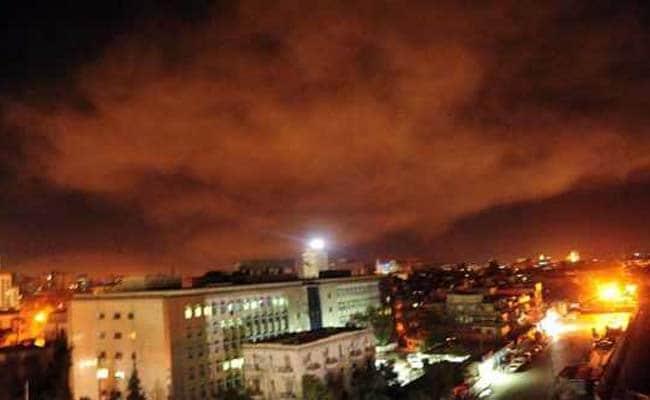 सीरिया पर अमेरिका का हमला: राजधानी दमिश्क में सुनी गई तेज विस्फोट की आवाज