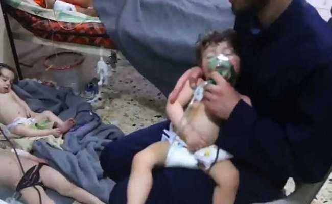 Nerve Gas Used In Syria Attack, Leaving Victims 'Foaming At The Mouth', Evidence Suggests