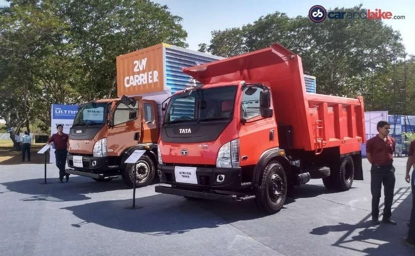 Tata Motors Launches Its New Range Of Ultra Trucks - NDTV CarAndBike