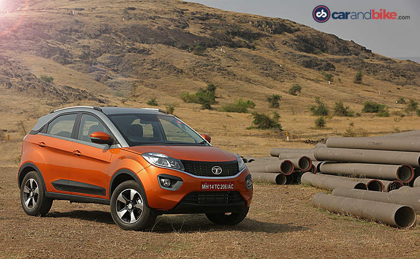 Image result for Tata Nexon AMT Launched; Prices Start From ₹ 9.41 Lakh