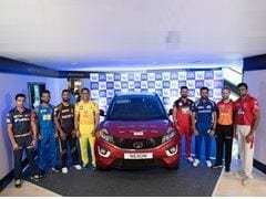 Tata Nexon Signed By IPL Team Captains To Be Auctioned To Create Cancer Awareness