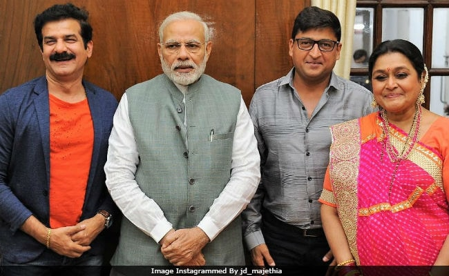 Supriya Pathak And Team Khichdi Meet PM Modi. See Pic