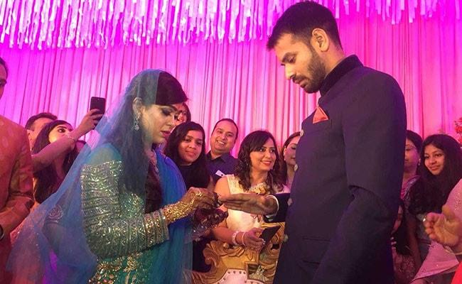 Lalu Yadav's Son Tej Pratap Engaged To Aishwarya Roy. See Pics
