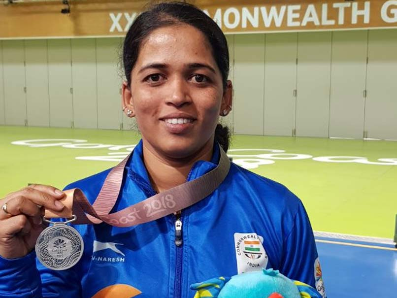 CWG 2018: Tejaswini Sawant shoots silver in 50m rifle prone
