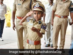 6-Year-Old Cancer Patient Was Police Commissioner For A Day In Telangana