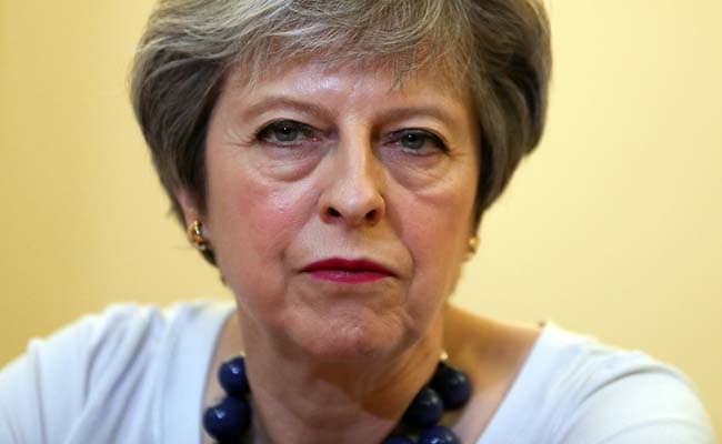 British Forces Conduct Targeted Strike Against Syria Says Theresa May