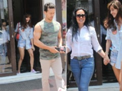 Disha Patani Bonds With Rumoured Boyfriend Tiger Shroff's Mom Ayesha Shroff. See Viral Pics