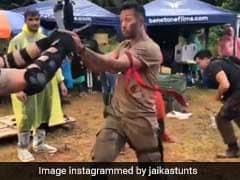 'बागी 2' में टाइगर श्रॉफ के एक्शन सीन्स का हो गया खुलासा, ऐसे किया था शूट... देखें वीडियो