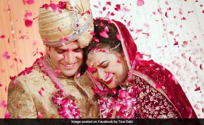 PHOTOS: IAS टॉपर जोड़ी टीना डाबी और आमिर की पूरी Wedding Album