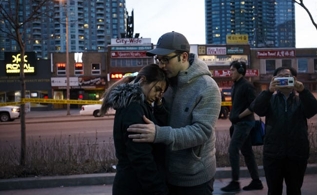 Toronto: Bodies And Debris Scattered Over Mile-Long Strip