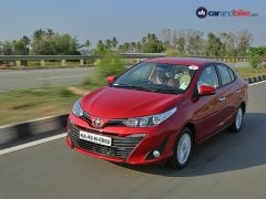 Toyota Has Delisted Three Variants of the Yaris Sedan In India