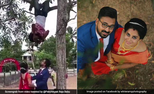 Meet Kerala Photographer Who Hung From Tree For The Perfect Pic, Went Viral