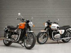 Triumph Introduces Limited Edition Bonnevilles For UK
