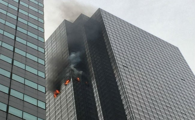 Fire Breaks Out At Trump Tower, No Immediate Reports Of Injuries