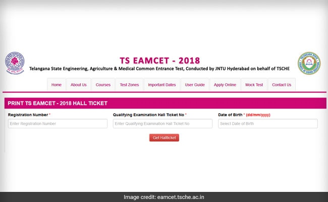 TS EAMCET 2018 Hall Ticket Released @ Eamcet.tsche.ac.in; Here Is How To Download