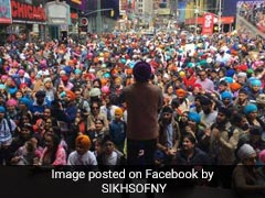 """Sikh Group Ties """"Over 9,000 Turbans"""" In US, Set World Record"""