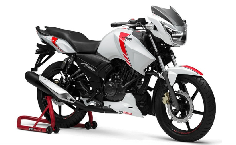 TVS Apache RTR 160 ABS Goes On Sale; Priced At ₹ 85,479