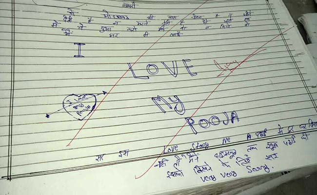 'Too In Love To Study' UP Student's Note In Answer Sheet Stumps Examiners