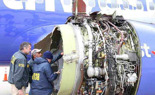 Serious damages were caused to the plane as the engine failed and an emergency landing forced