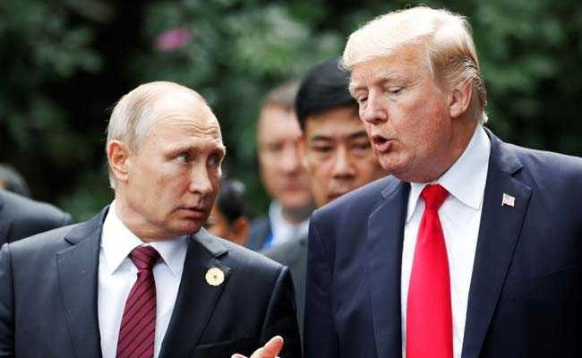 Vladimir Putin A 'Competitor', Not An 'Enemy', Says Donald Trump