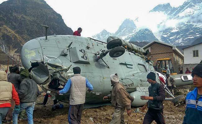 uttarakhand helicopter crash