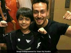Shilpa Shetty's Son Viaan Dancing To Tiger Shroff's <i>Baaghi 2</i> Song Is Super Cute