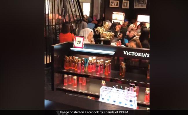 Victoria's Secret Sale Sparks Mayhem In Store. Watch