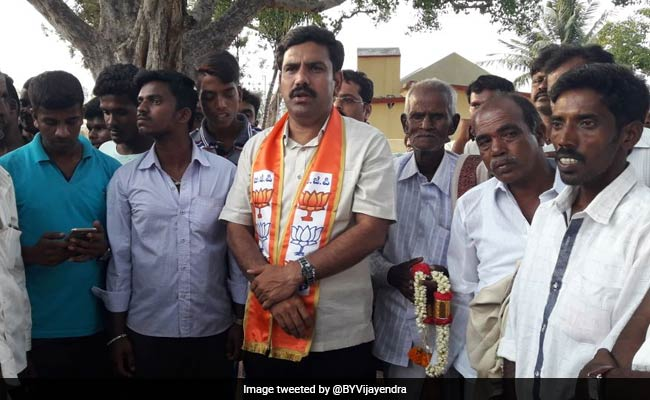 BJP's Sop For Yeddyurappa Jr As It Refuses Him Karnataka Contest