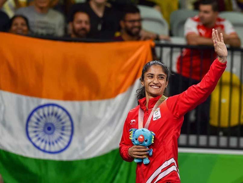 Commonwealth Games 2018: Vinesh Phogat, Sumit Malik Win Golds; Sakshi Malik Claims Bronze