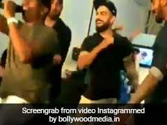 VIDEO: ड्वेन ब्रावो के रैप पर झूमकर नाचे विराट कोहली, भज्जी-राहुल ने भी किया डांस