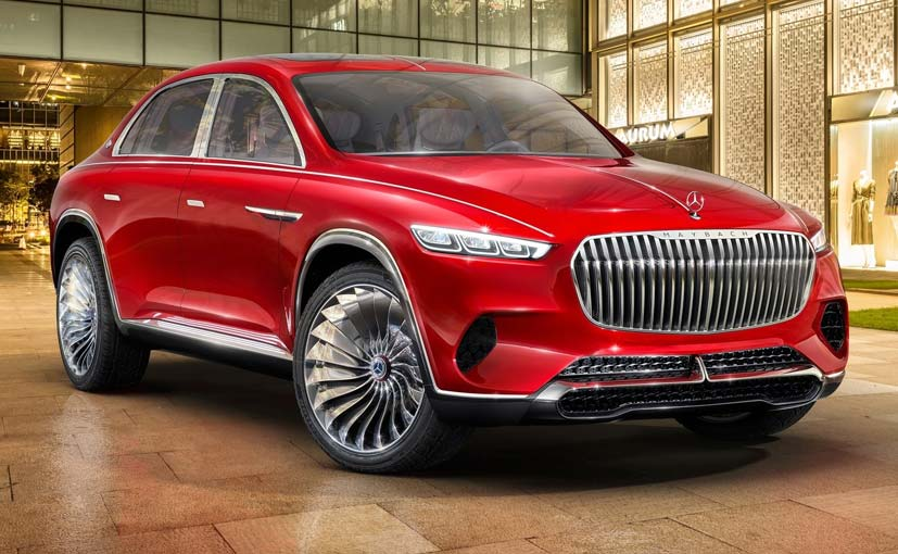 Vision Mercedes-Maybach Ultimate Luxury Concept Revealed
