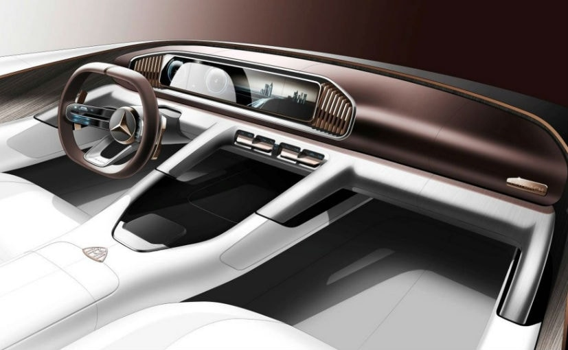 Vision Mercedes-Maybach Ultimate Luxury Concept To Be Revealed At Beijing Motor Show
